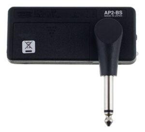 Vox Amplug 2 bass vista posteriore