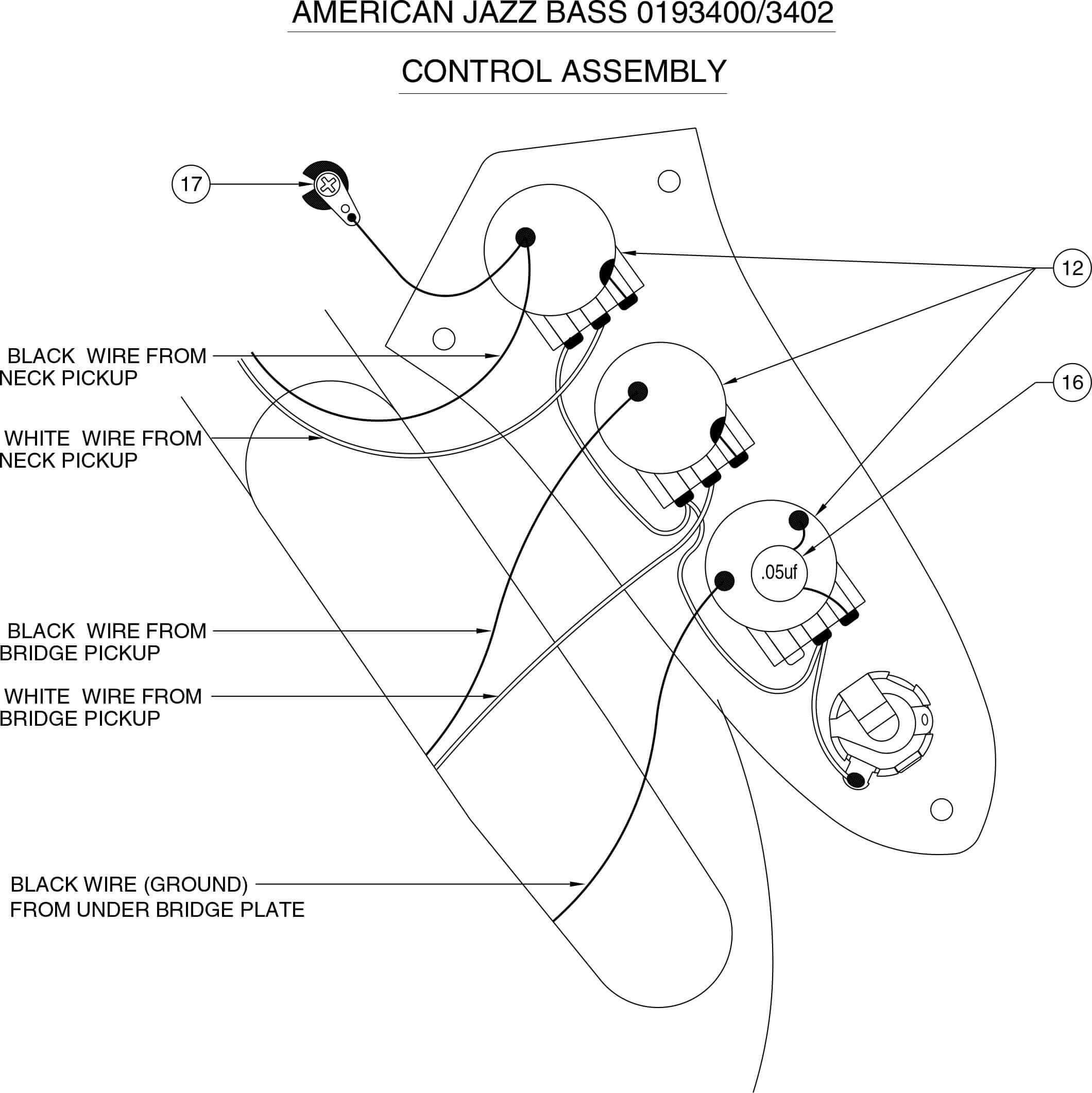Schemi Elettrici In Pdf : Schemi elettrici dei bassi più famosi
